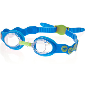 speedo Sea Squad Goggles Kids neon blue/hydro green